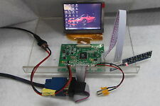 VGA AV Controller Board with 3.5inch lcd display 640x480 resolution PD035VX2
