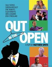 BRAND NEW GAY THEMED MATTHEW SMITH OUT IN THE OPEN LGBTQ DOCUMENTARY DVD 2013