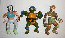 Rat King Leonardo Casey Jones Teenage Mutant Ninja Turtles Action Figures Lot
