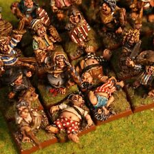 "thebattleforge 28mm Halfling Militia Casualties x6 Pack ""Dead, Drunk or Overfed"""