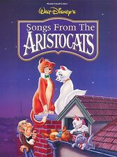 The Aristocats Sheet Music Piano Vocal Guitar Songbook NEW 000313055