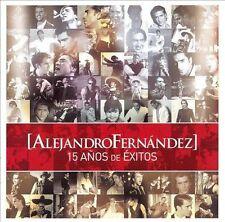 CD + DVD 15 Años de Exitos by Alejandro Fernandez