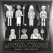 My Star Wars Family Scum & Villainy Booster Window Decal Stickers Licensed Car