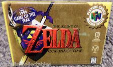 """Legend of Zelda Ocarina of Time N64 Vintage Game Box  2""""x3"""" Fridge Locker MAGNET"""