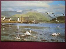POSTCARD INVERNESS-SHIRE LOCH LINNHE & BEN NEVIS FROM CORPACH