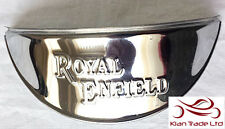 "Brand New Royal Enfield Chrome Head light LAMP Shades Visor 7"" beam"