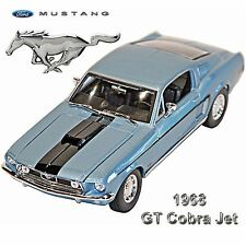 1:18 Scale Special Edition 1968 Ford Mustang GT Cobra Jet Diecast Model Maisto