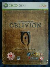 THE ELDER SCROLLS IV OBLIVION COLLECTORS EDITION NEW RARE SEALED XBOX 360 PAL UK