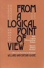 From a Logical Point of View: Nine Logico-Philosophical Essays, Second Revised