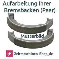 Bremsbacken (Paar) neu geklebt BMW R25/3, R25 | Aufarbeitung Ihrer Bremsbacken