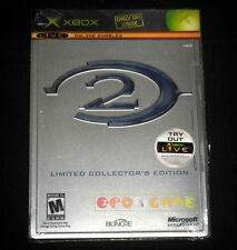 HALO 2 LIMITED COLLECTOR'S EDITION XBOX American Version Steel Box ○ NEW SEALED