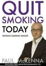 Quit Smoking Today by Paul McKenna NEW