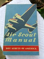 Vintage 1942 Boy Scouts of America Air Scout Manual 1st Edition