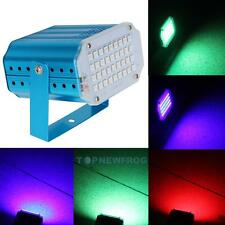 36 LED Stage Laser Projector RGB Strobe Lighting Club DJ Disco Party KTV Light