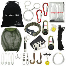 Outdoor Hiking Camping Emergency Survival Tool Set Multi-function Kit Equipment