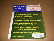 U.S. News & World Report, September 18, 1967, Ronald Reagan Vietnam, Auto Strike