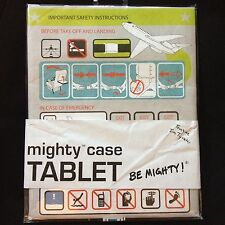 "NEW Dynomighty ""IN-FLIGHT"" Travel TABLET Case Padded Tyvek iPad Kindle Galaxy"