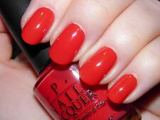NEW! OPI Nail Polish Vernis RED MY FORTUNE COOKIE