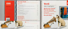 Verdi Aida (Highlights) Montserrat Caballe Placido Domingo Klassik CD (Box41)