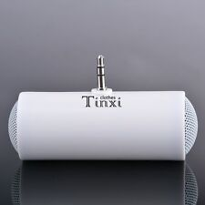 Portable 3.5mm Mini Stereo Speaker For MP3/MP4/Mobile phone/Tablet PCS White