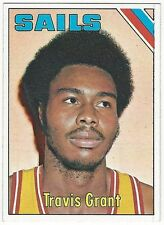 1975-76 TOPPS BASKETBALL #245 TRAVIS GRANT 2ND YEAR - EX-/EX