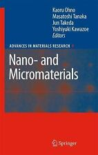 Nano- and Micromaterials (Advances in Materials Research)
