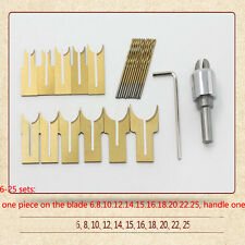24pcs / set carbide ball knife diy woodworking tools wooden beads drill