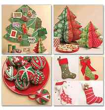 McCalls Crafts Accessories/Decorative Sewing Pattern 5778 Holiday Decorations