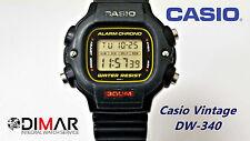 VINTAGE CASIO DW-340 QW.1000 WR.300 AÑOS 80 -USADO-