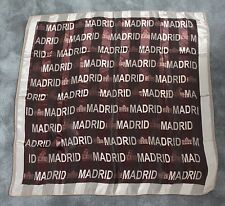 Women's Decorative Madrid - Capital of Spain Spanish Scarf Shawl Wrap 98 x 94cm