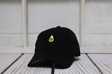 NEW AVOCADO EMBROIDERED POLO BASEBALL HAT HIP HOP CAP BLACK