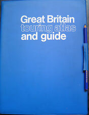 GREAT BRITAIN TOURING ATLAS & GUIDE ~ 32 KARTEN u. m.~ GEOGRAPHIA LTD ~ CLEVELEY