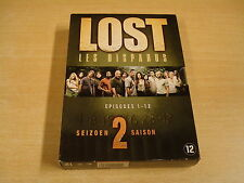 4-DVD BOX / LOST / LES DISPARUS - SEIZOEN 2 - EPISODES 1 -12 ( DEEL 1 )