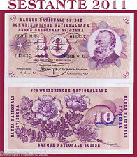 SWITZERLAND / SVIZZERA - 10 FRANKEN 7.2. 1974 sign. 45   - P 45t - FDS / UNC