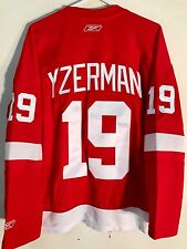 Reebok Women's Premier NHL Jersey Redwings Steve Yzerman Red sz M