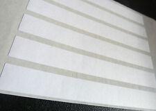 Bianco Carta Opaco Adesivi,145x17mm Rettangolo,12 etichette,Economia Confezione,