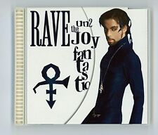 Prince 1999 Arista CD Rave Un2 The Joy Fantastic  with Poster