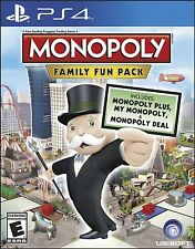 MONOPOLY FAMILY FUN PACK  (PS 4, 2014) (0349) SHIPS NEXT DAY  FREE SHIPPING USA