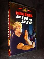 An Eye for an Eye (DVD 2001) Mint Disc•No Scratches•US•Out-of-Print•Chuck Norris