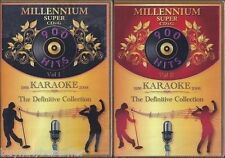 NEW! DK KARAOKE Millennium Super CD+G SCDG Vol 1 & 2 1800 Songs Also in MP3+G