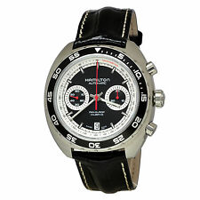 NEW Hamilton Pan Europ Auto Chrono H35756735 Watch (Black Dial) - $1,945