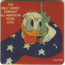 Disney Cast Member All American Picnic 2002 Donald Duck Pin!