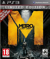 Metro Last Light ~ PS3 (in Great Condition)