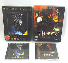 Thief Gold & II The Metal Age (2) Joblot Bundle PC CD-ROM Big Box Version Retro
