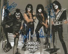 KISS AUTOGRAFI SIGNED 20x25 cm immagine