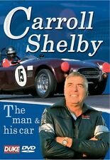 The Carroll Shelby Story - The Man & His Car (New DVD) AC Cobra Ford Le Mans
