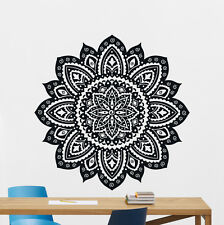 Mandala Lotus Flower Wall Decal Vinyl Sticker Namaste Indian Decor Mural 230xxx
