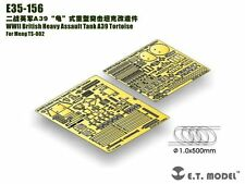 Et model 1/35 #E35156 british A39 tortue detail up set for meng model TS-002