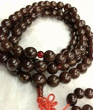 12mm Tibet Buddhism 108 Flower bodhi Bodhi seeds Mala Necklace