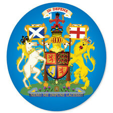 "Scottish Royal Coat of Arms Scotland sticker 4"" x 4"""